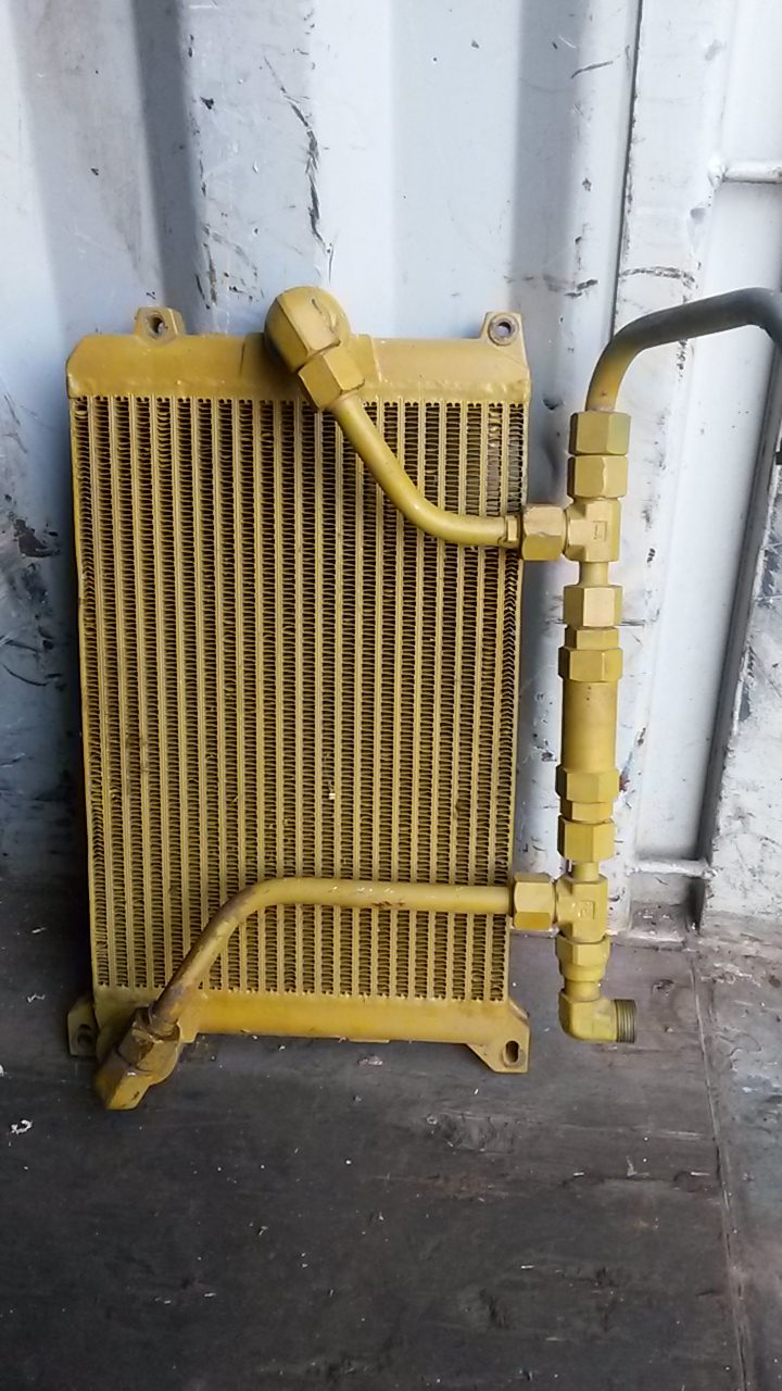 Oil Coolers For Hydraulic Systems : Hydraulic oil cooler cat  usedspares